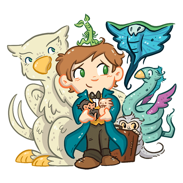 FANTASTIC BEASTS AND WHERE TO FIND THEM STICKERS messages sticker-5