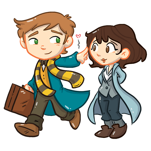 FANTASTIC BEASTS AND WHERE TO FIND THEM STICKERS messages sticker-6