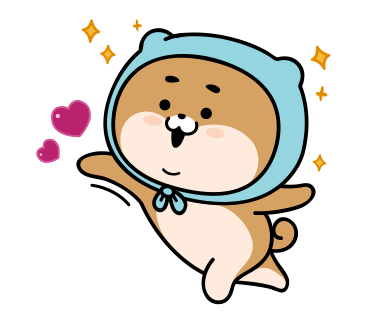 Blue Shiba Dog Stickers for iMessage messages sticker-7