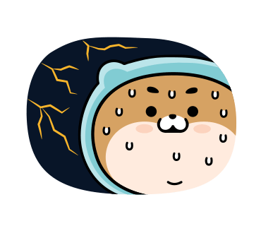 Blue Shiba Dog Stickers for iMessage messages sticker-6