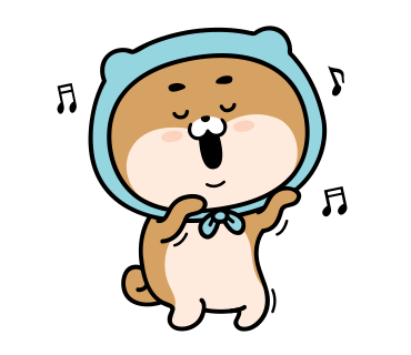 Blue Shiba Dog Stickers for iMessage messages sticker-10