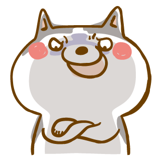 Scary Siberian Dog Stickers for iMessage messages sticker-5