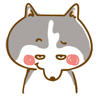 Scary Siberian Dog Stickers for iMessage messages sticker-0