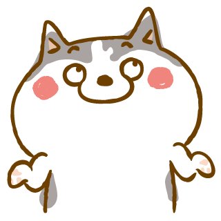Scary Siberian Dog Stickers for iMessage messages sticker-2