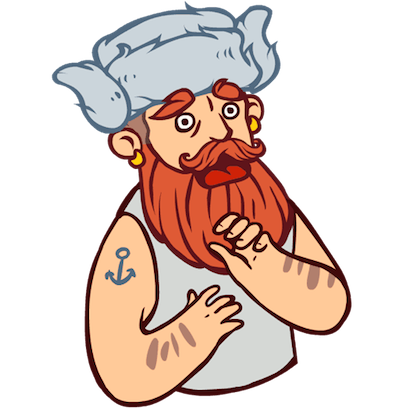 Bearded Man messages sticker-5