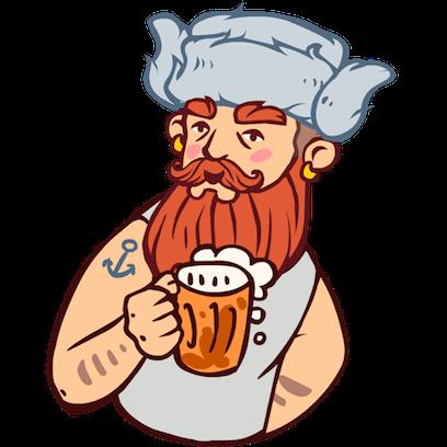 Bearded Man messages sticker-9