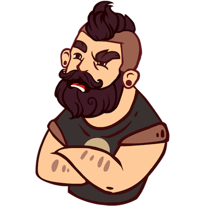 Bearded Man messages sticker-8