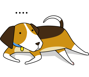 Beagle sticker.Dog Stickers for iMessage messages sticker-5
