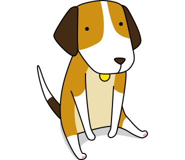Beagle sticker.Dog Stickers for iMessage messages sticker-2