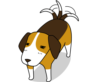Beagle sticker.Dog Stickers for iMessage messages sticker-4
