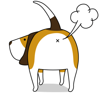 Beagle sticker.Dog Stickers for iMessage messages sticker-0
