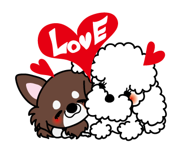 Poodle Dog Stickers for iMessage Daily Use messages sticker-5