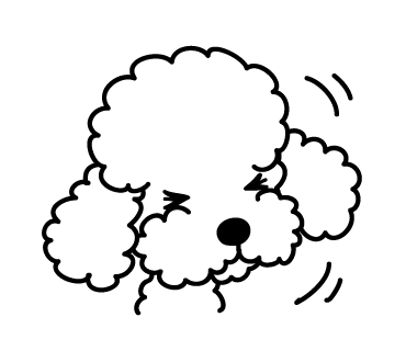 Poodle Dog Stickers for iMessage Daily Use messages sticker-2