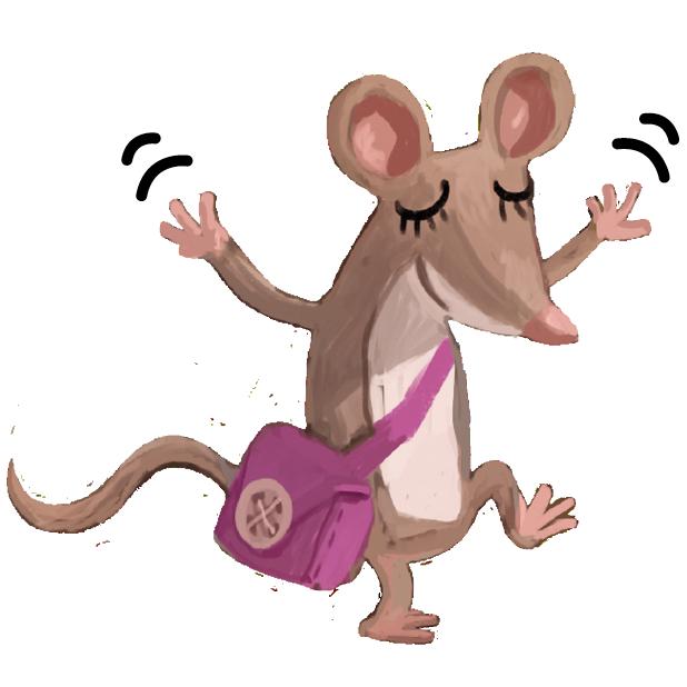 Kosmo & Klax: Spaß mit niedlichen Tier-Stickern messages sticker-4
