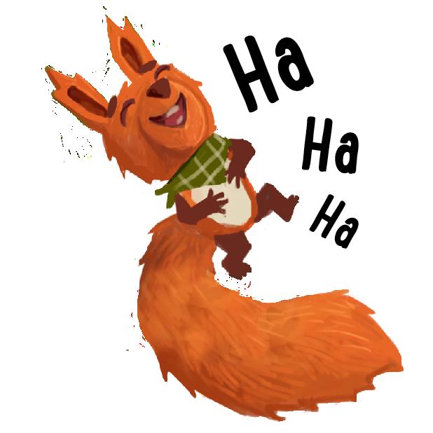 Kosmo & Klax: Spaß mit niedlichen Tier-Stickern messages sticker-1