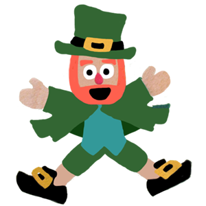 Five Little Leprechauns St. Patrick's Day Stickers messages sticker-4