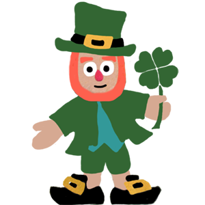 Five Little Leprechauns St. Patrick's Day Stickers messages sticker-2
