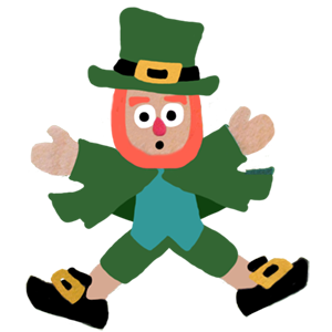 Five Little Leprechauns St. Patrick's Day Stickers messages sticker-3