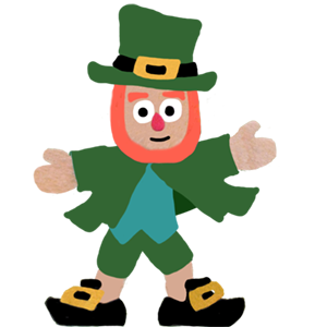 Five Little Leprechauns St. Patrick's Day Stickers messages sticker-5