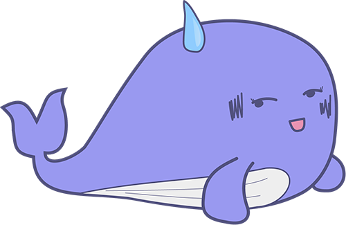 Whale - Cute stickers messages sticker-2