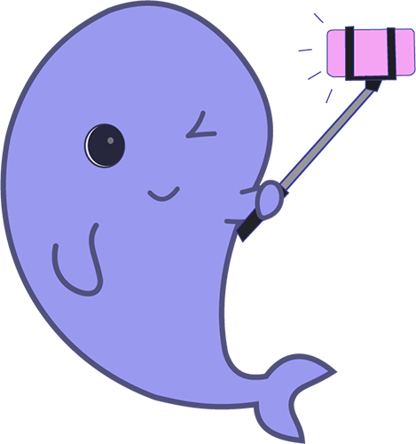 Whale - Cute stickers messages sticker-8