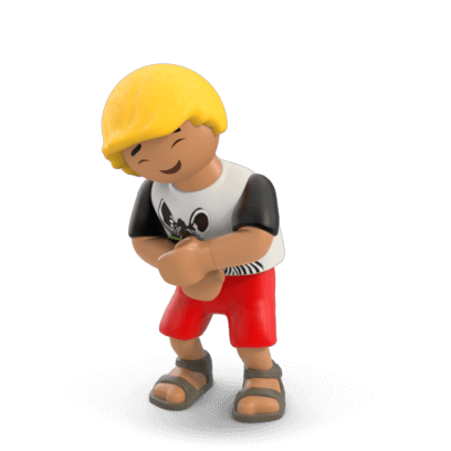 PLAYMOBIL Stickers messages sticker-10