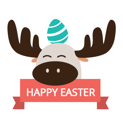Easter Bunny versus Sticker Pack messages sticker-10