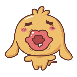 Silly Dog Cute - Fc.Sticker messages sticker-10