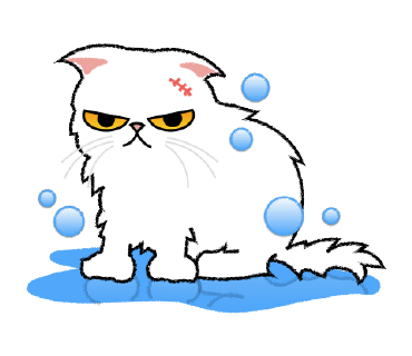 Cute Persian Cat Stickers Pack messages sticker-3