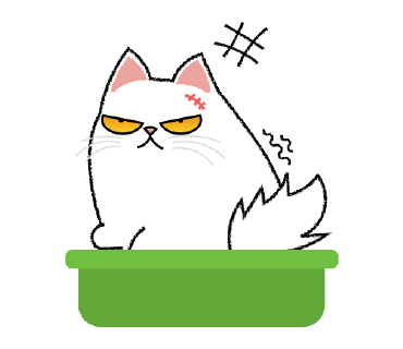Cute Persian Cat Stickers Pack messages sticker-2
