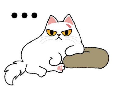 Cute Persian Cat Stickers Pack messages sticker-8
