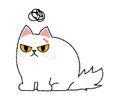 Cute Persian Cat Stickers Pack messages sticker-0