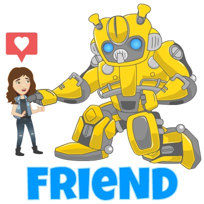Official Transformers Stickers messages sticker-6