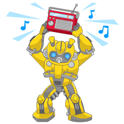 Official Transformers Stickers messages sticker-0