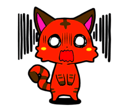 Devil Cat Stickers messages sticker-4