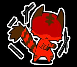 Devil Cat Stickers messages sticker-2