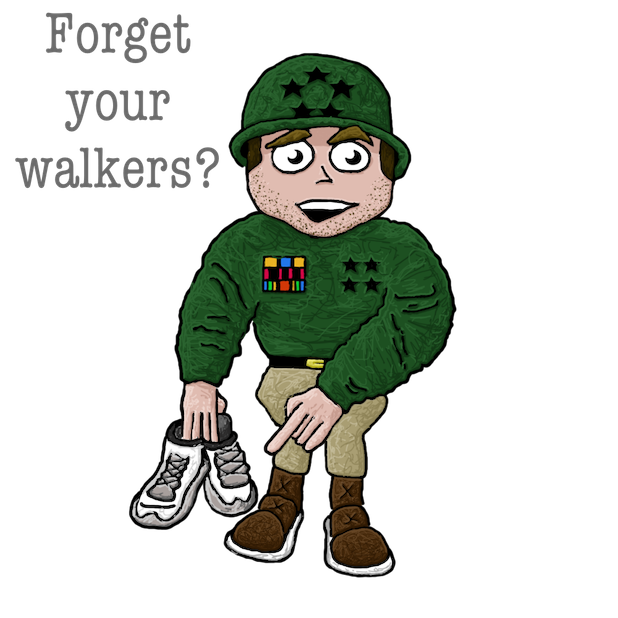 Sergeant Snark Pedometer messages sticker-3