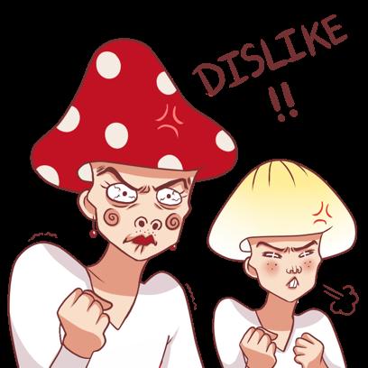 Mushroom Bros stickers messages sticker-5