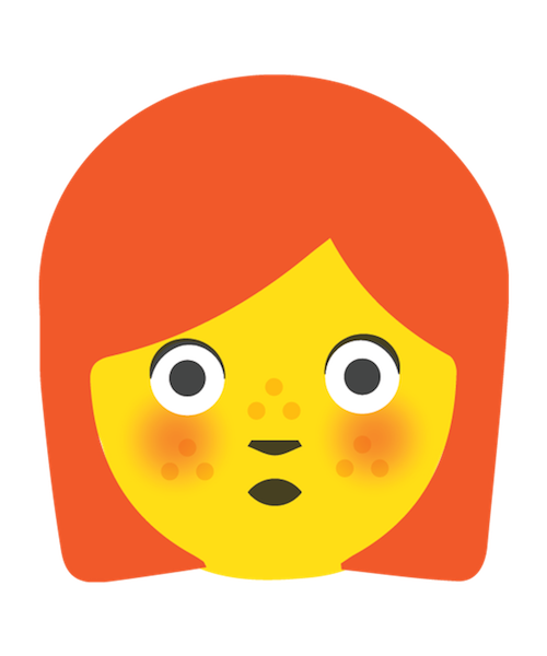 Redhead Emoji Stickers messages sticker-3