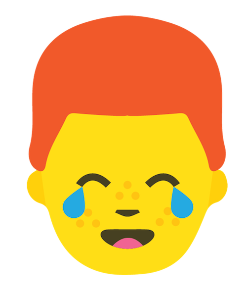 Redhead Emoji Stickers messages sticker-11