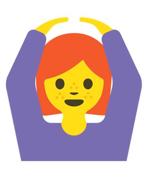 Redhead Emoji Stickers messages sticker-2