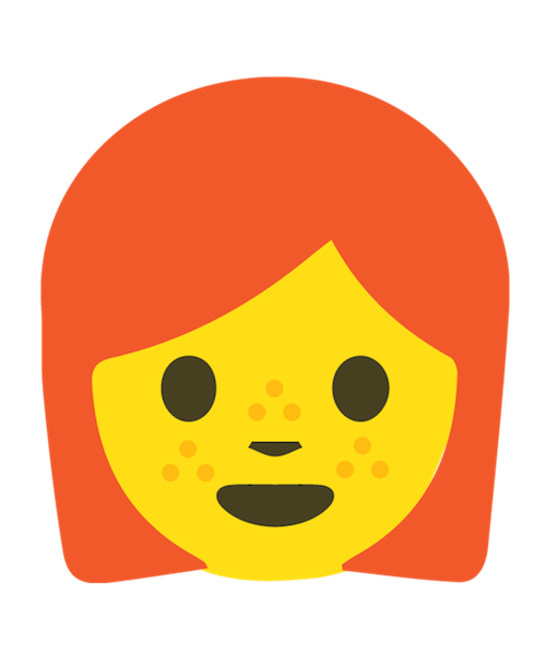 Redhead Emoji Stickers messages sticker-0