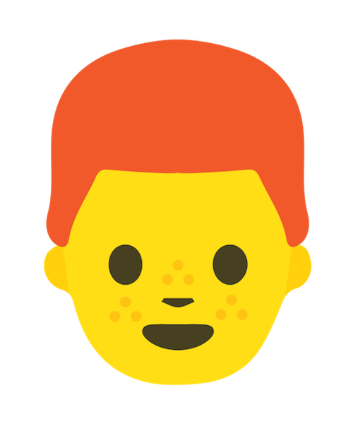 Redhead Emoji Stickers messages sticker-1