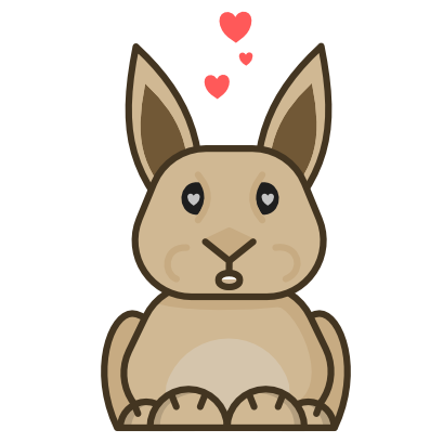 Ben the Bunny messages sticker-11