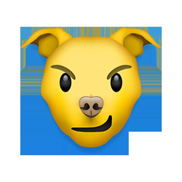 Pitmoji - Pitbull Emoji messages sticker-8