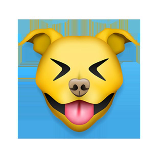 Pitmoji - Pitbull Emoji messages sticker-2