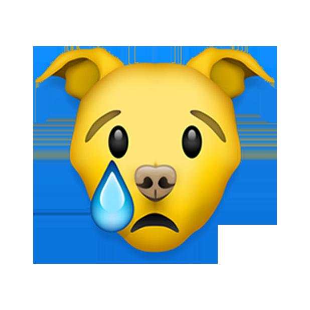 Pitmoji - Pitbull Emoji messages sticker-9