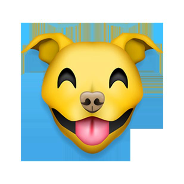 Pitmoji - Pitbull Emoji messages sticker-1