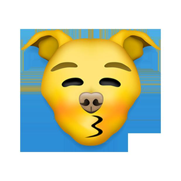 Pitmoji - Pitbull Emoji messages sticker-5