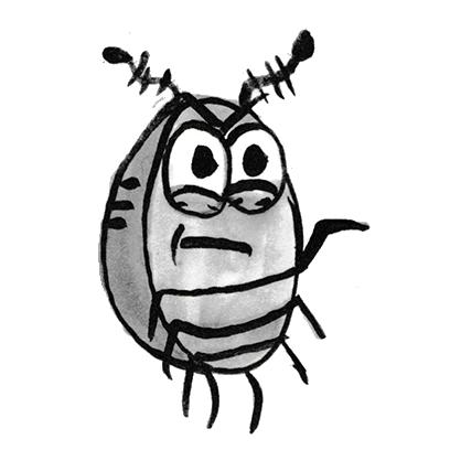 Sammy the Pillbug Stickers Lite messages sticker-6